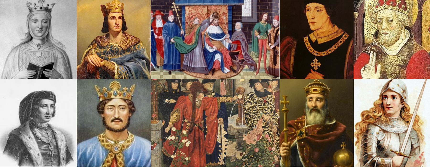 The European Middle Ages Banner