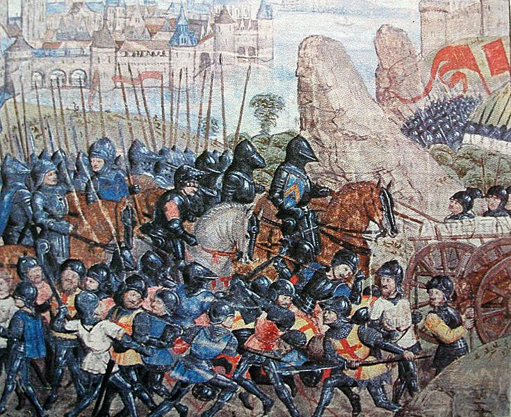 The Battle of Tewkesbury